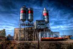 Cement plant Stock Photos