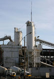 Cement Plant Royalty Free Stock Images