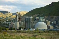 Cement Plant. Near Baker City, Oregon Stock Photos