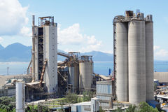 Cement Plant Stock Image