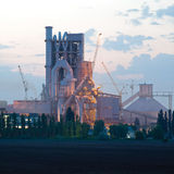 Cement plant Stock Images