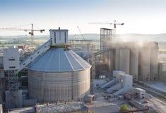 Cement plant Stock Image