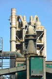 Cement plant, factory Royalty Free Stock Image