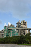 Cement plant, factory Stock Image