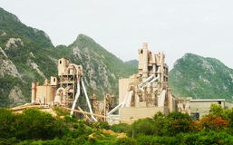 Cement Plant Stock Photography