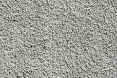 Cement Plaster - Structure of white coloured cement plaster Royalty Free Stock Image