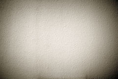 Cement plaster vignette style wall background Stock Photos