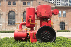 Cement production equipment Royalty Free Stock Photography