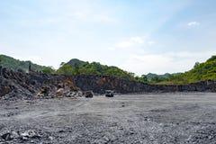 Cement quarry Stock Photos