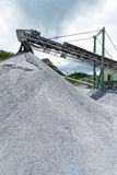 Cement quarry Stock Photo