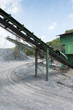 Cement quarry Stock Image