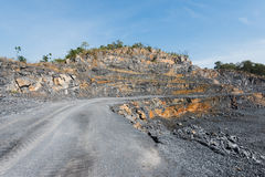 Cement quarry Royalty Free Stock Image