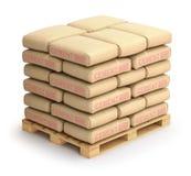 Cement sacks royalty free illustration