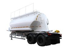 Cement semitrailer Stock Images
