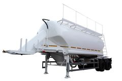 Cement semitrailer Royalty Free Stock Photo