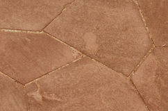 Cement sidewalk lines Royalty Free Stock Images