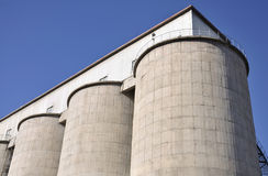 Cement Silo Stock Image