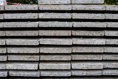 Cement slab floor concrete slab Stock Photography