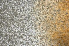 Cement spray rust Stock Photography