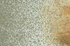 Cement spray rust smooth transition background. Cement spray rust on a metal white sheet  background Stock Photos