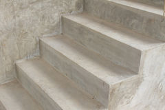 Cement stair. Modern building design stock images