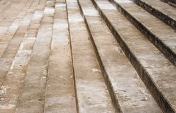 Cement stair Royalty Free Stock Image
