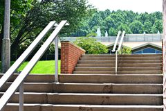Cement Steps Stock Photography