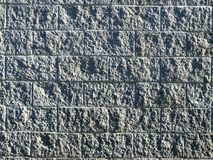 Cement in Stone. This is a concrete wall with a beautiful texture finish on it Royalty Free Stock Photo