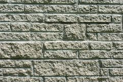 Cement stone wall Stock Images