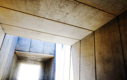Cement structure. Precast concrete Stock Photography