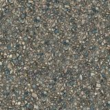 Cement Surface. Seamless Texture. Old Cement Surface with Protruding Stones. Seamless Tileable Texture Royalty Free Stock Image