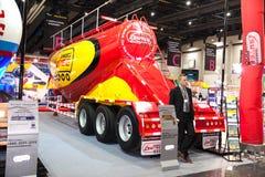 Cement tanker Stock Photo