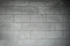 Cement texture background are made the line like a block Royalty Free Stock Images