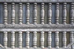 Cement textured lattice fence. Cement gray textured lattice fence Royalty Free Stock Photos