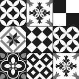 Cement tile background Stock Photo
