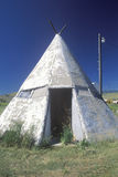 Cement Tipi, NV City, MT Stock Photography