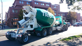 Cement Truck Concrete Mixer Stock Photography