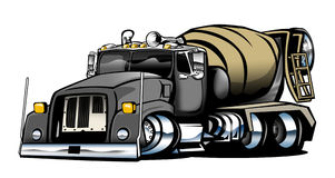 Cement Truck Royalty Free Stock Photo