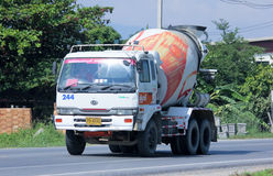 Cement truck no.244 of INSEE Concrete company Stock Photos