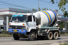 Cement truck of PWS Concrete Royalty Free Stock Photos
