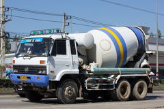 Cement truck of PWS Concrete Stock Images