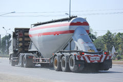 Cement truck of TLL Logistic Royalty Free Stock Images