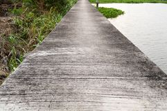 Cement walkway Stock Photography