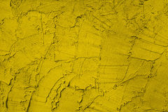 Cement wall. Beautiful cement wall is yellow Stock Photography