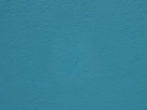 Cement wall blue color Stock Images