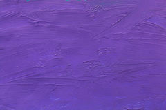 Cement wall colored with Purple paint background. Texture Stock Photo
