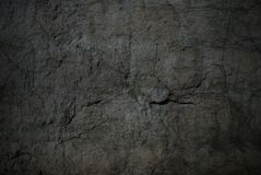 Cement wall with crack Royalty Free Stock Image