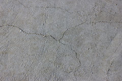 Cement wall with crack Stock Photos