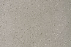 Cement wall with extruded pattern Royalty Free Stock Photos