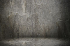 Cement wall and floor. It is cement wall and floor royalty free stock images